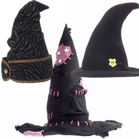 Black Wizard Hats