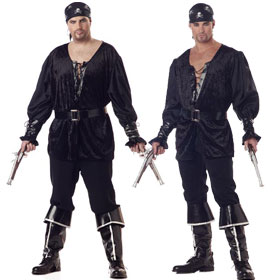 Blackheart Pirate Costumes