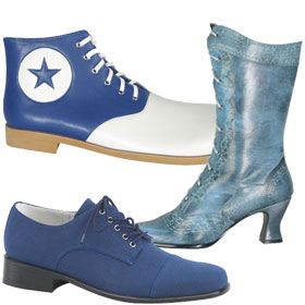 Blue Costume Shoes