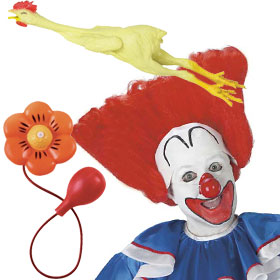 Bozo the Clown Costume Accessories