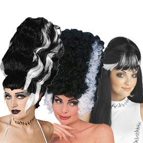 Bride of Frankenstein Wigs