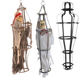 caged halloween props - Scary Props