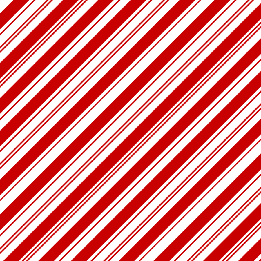 Candy Cane Stripes Bandanas