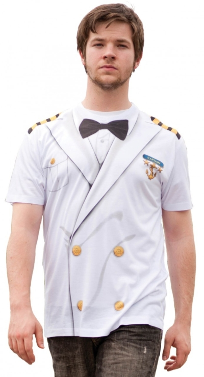 """Captains"" Uniform Costume T-Shirt"