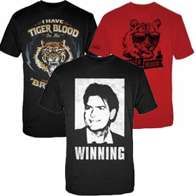 Charlie Sheen T-Shirts