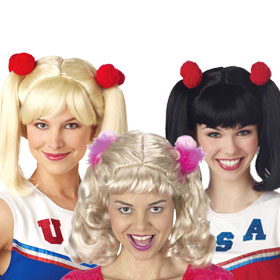 Cheerleader Wigs