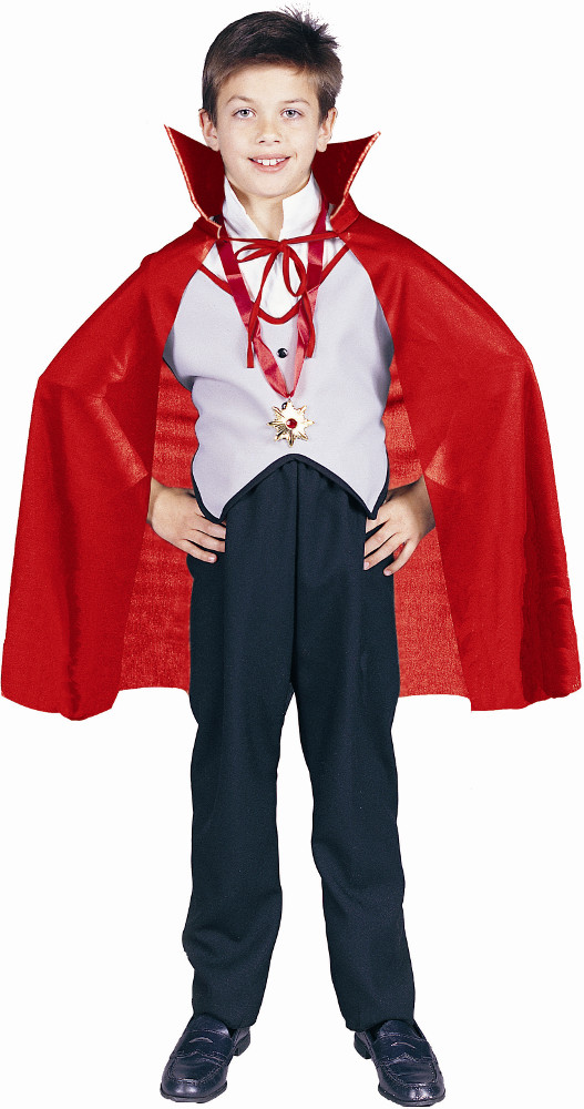 "Child 27"" Red Nylon Cape"