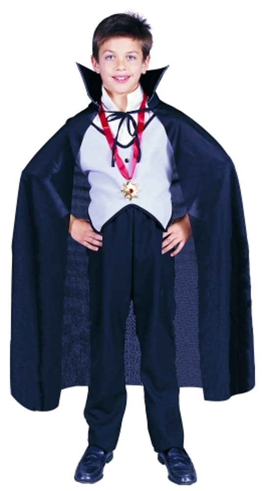 "Child 36"" Black Nylon Cape"
