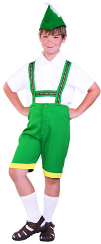 Child Bavarian Boy Costume