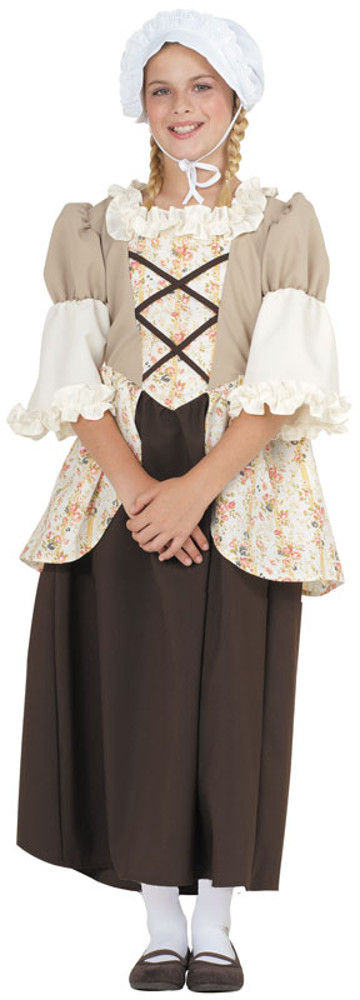 Child Colonial Bella Costume