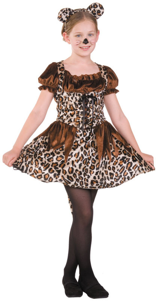 Child Cute Cheetah Costume