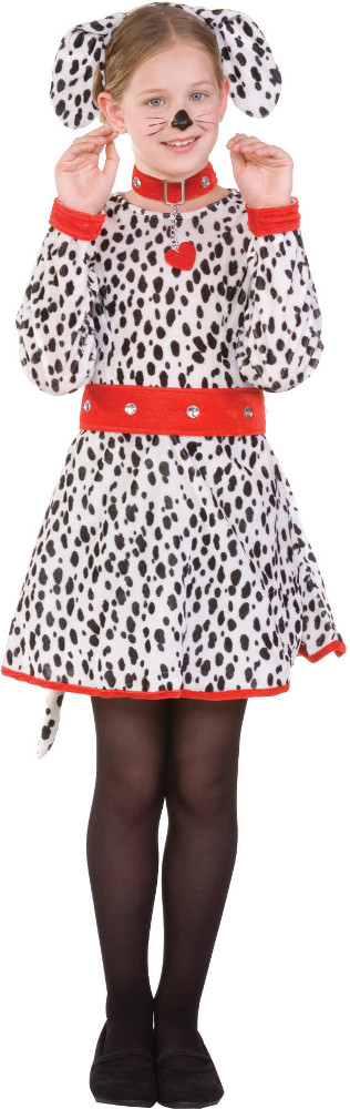 Child Dalmatian Costume Dress