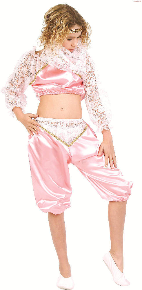 Child Pink Genie Costume