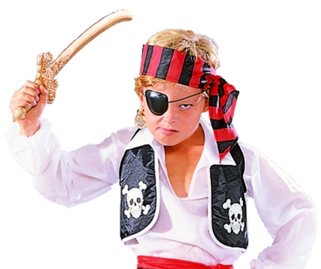 Child Pirate Vest