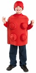 Child Red Toy Building Block Shirt