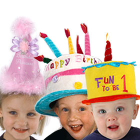 Child's Birthday Hats