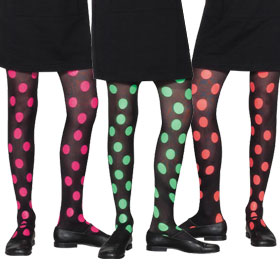 Child's Polka Dot Tights