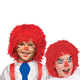 Child's Rag Doll Wigs