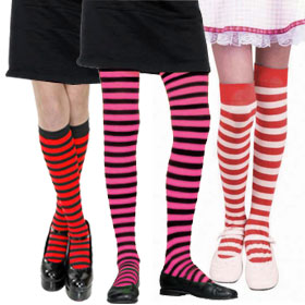 Child's Striped Tights