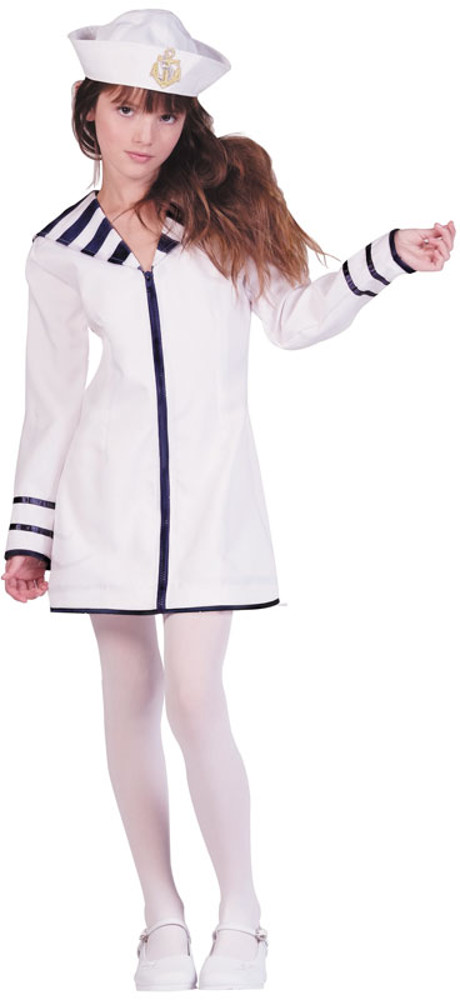 Child Sailor Girl Costume