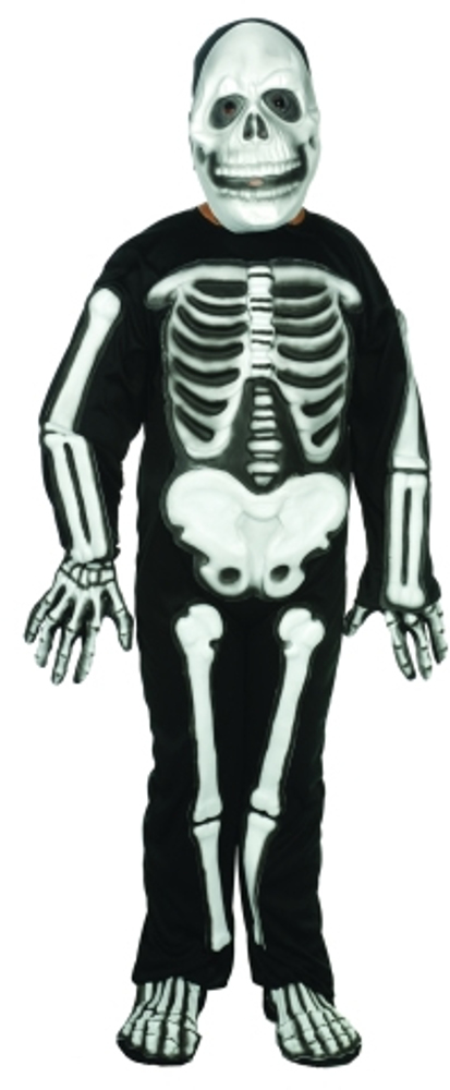 Child Skeleton Costume With 3D EVA Bones