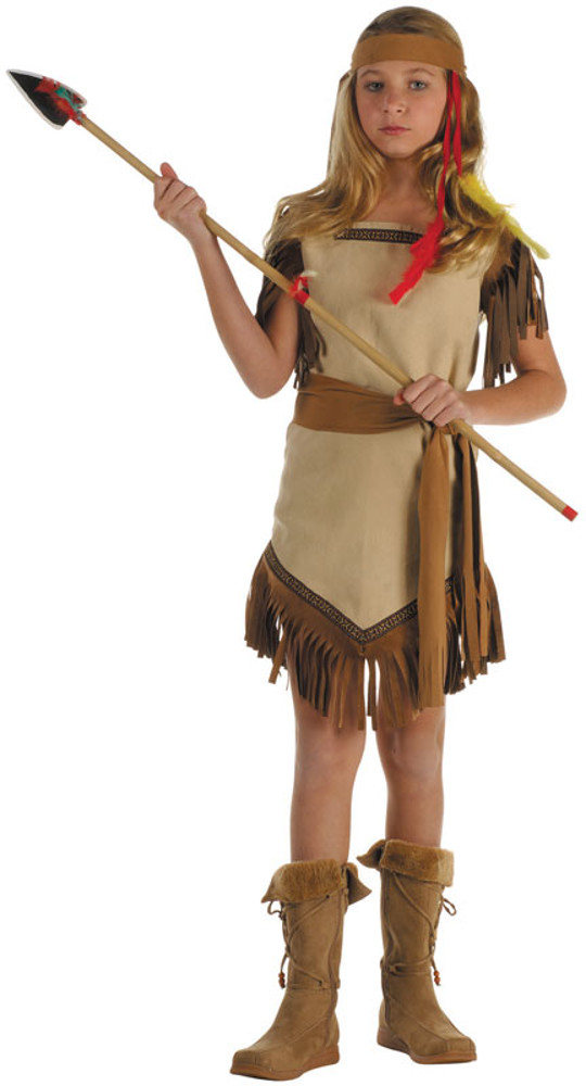 Child Suede Indian Princess Costume