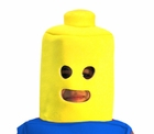Child Yellow Toy Block Man Headpiece