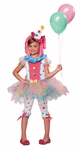 Childs Kaleidoscope Klown Costume
