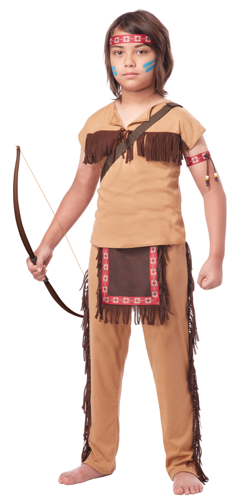 Child Native American Brave Costume