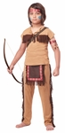 Childs Native American Brave Costume