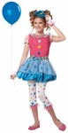 Childs Polka Dot Clown Costume