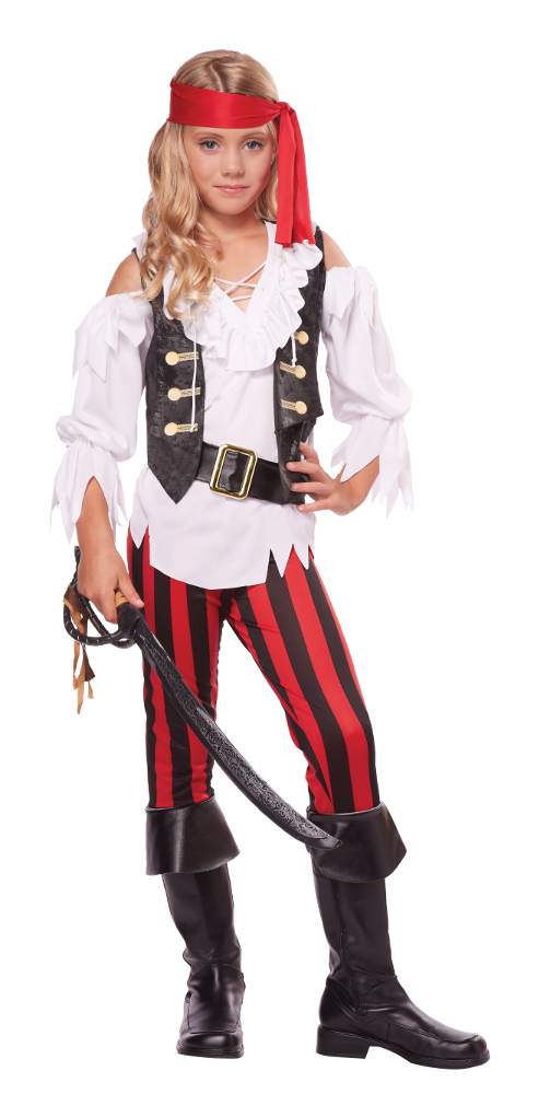 Child Posh Pirate Costume