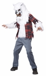 Child White Werewolf Costume