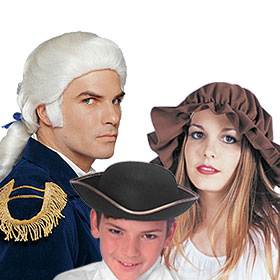 Colonial Costume Accessories