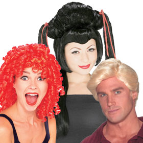 Costume Wigs by Color