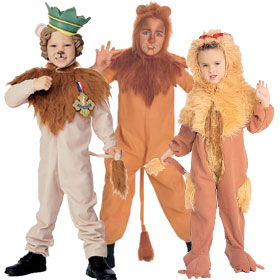 Cowardly Lion Costumes