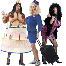 Cross Dresser Costumes