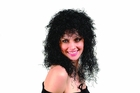Curly Black Wig