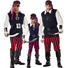 Cutthroat Pirate Costumes