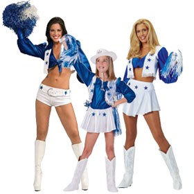 Dallas Cowboys Cheerleader Costumes