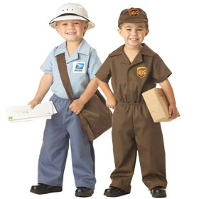 Delivery Man Costumes