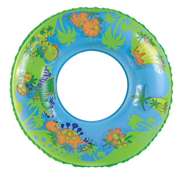 """Design-O-Saurus"" Pool Tube with Vinyl Stickers"