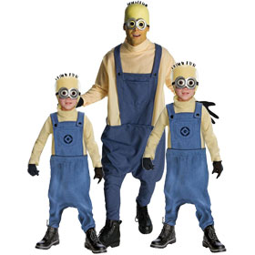 Despicable Me Minion Jorge Costumes