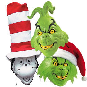 Dr. Seuss Costume Masks