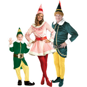 Elf Movie Costumes