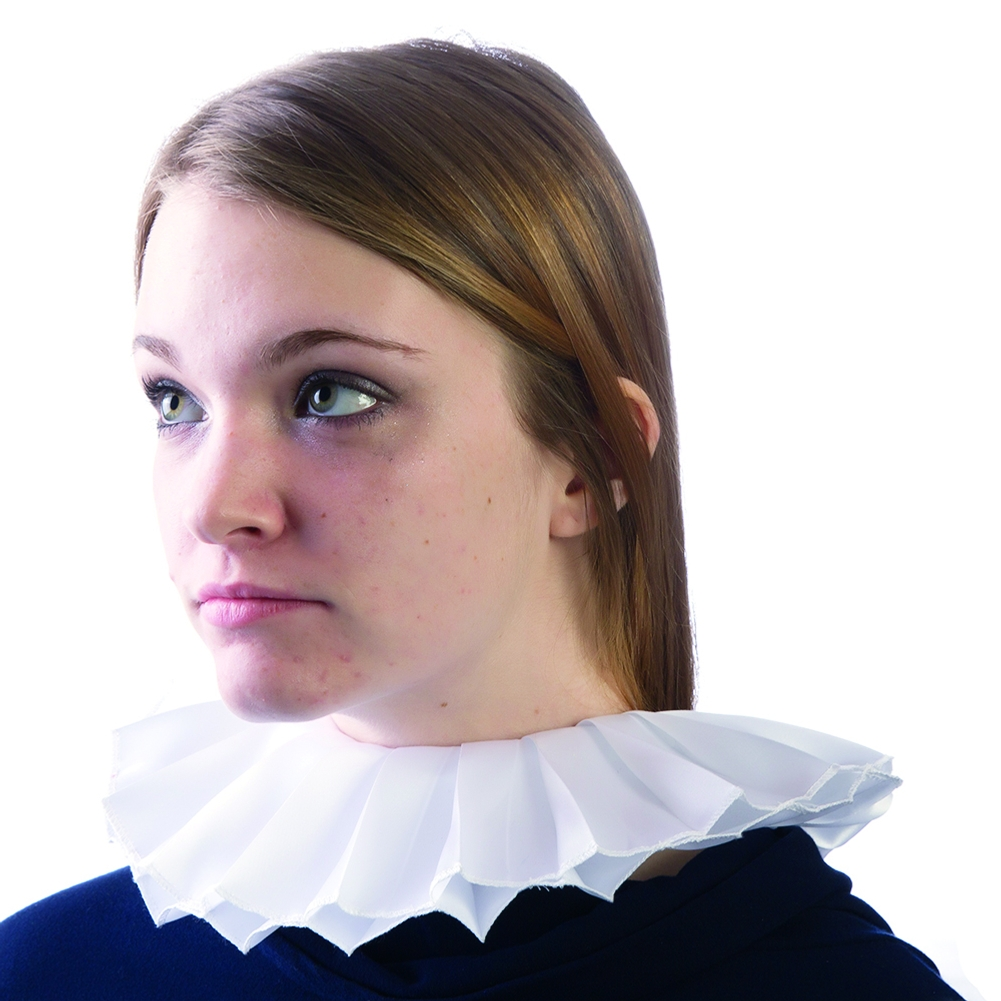 Elizabethian Collar with Velcro Closure