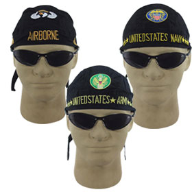 Embroidered Skull Caps