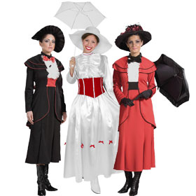 English Nanny Costumes