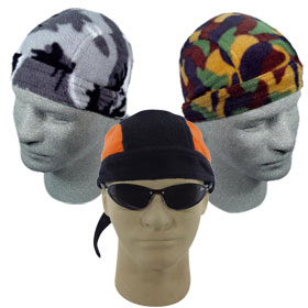 Fleece Skull Caps