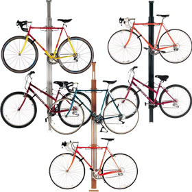 Floor to Ceiling Bike Racks